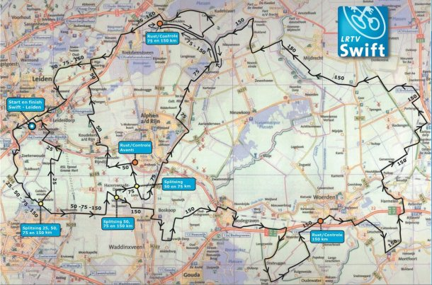 This is the route map for the 2011 JZC