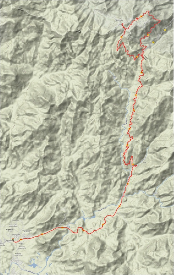 Fraser's Hill Route