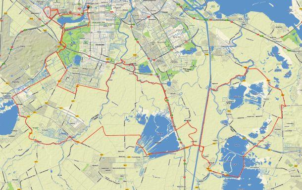 Gerrie Knetemann 2012 Route