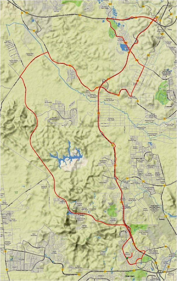 Kundang Route
