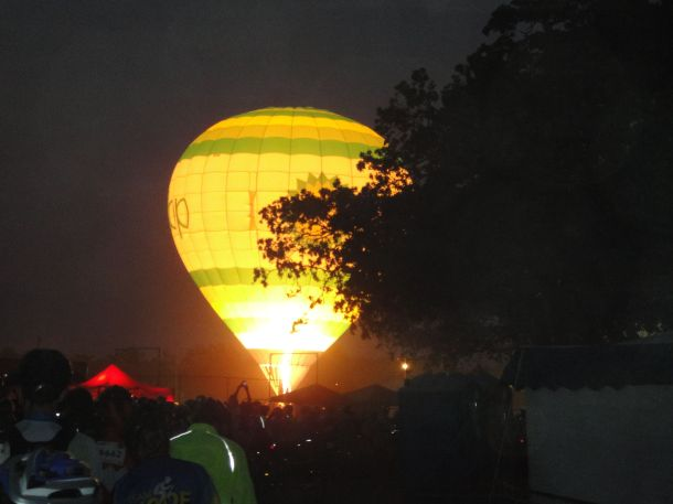 MS150 2011 La Grange Start Balloon