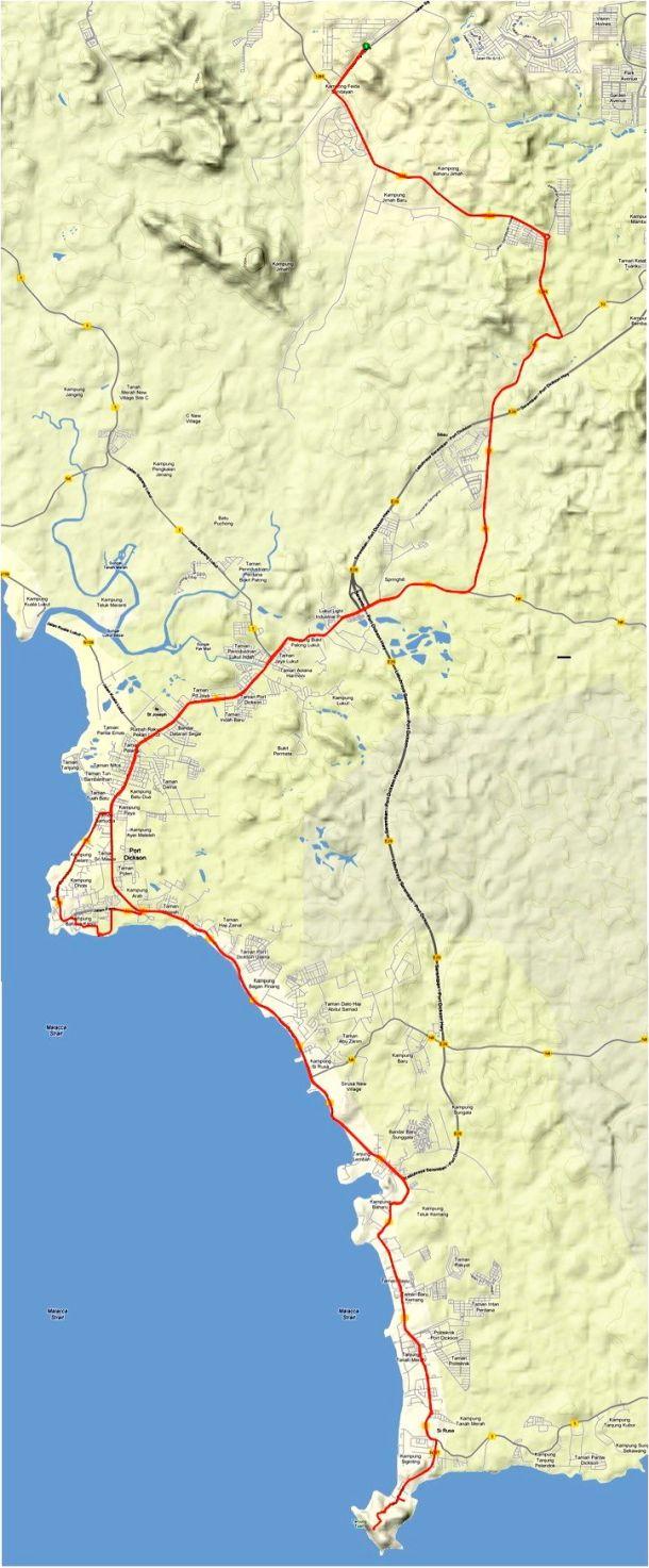 Tanjung Tuan Route