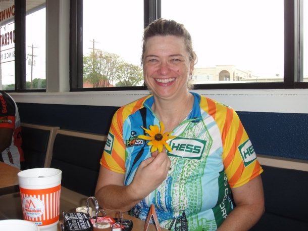 BP MS150 2013 Barbara Flower