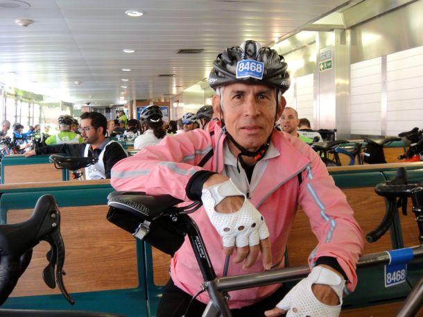 TD 5 Boro Bike tour 2013 Staten Island Ferry