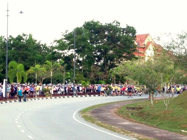 Kuantan Century 2013 Start Queue