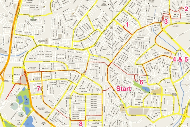 Rumble_3_Route Annotated