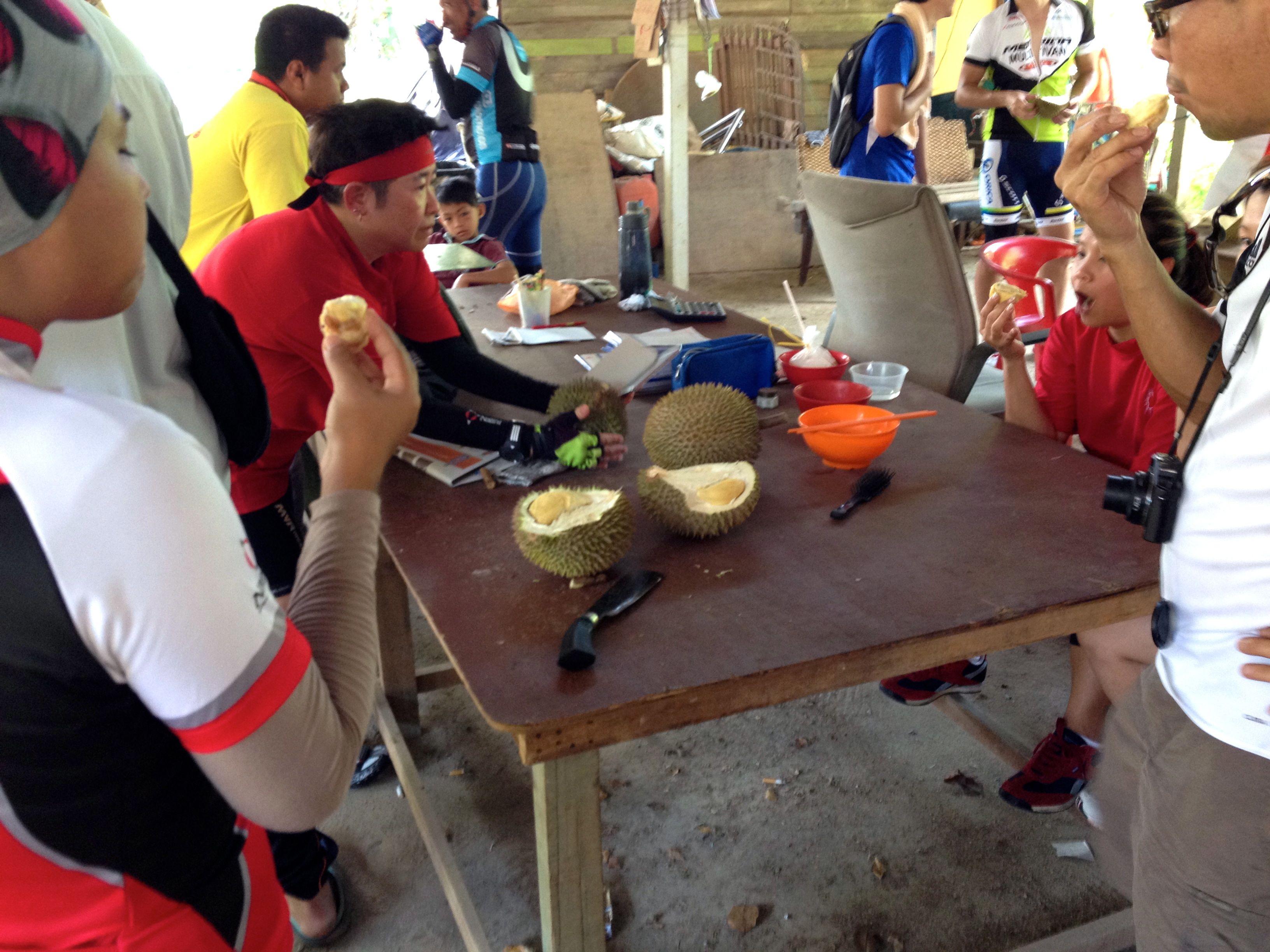 Durian Fiesta Eating
