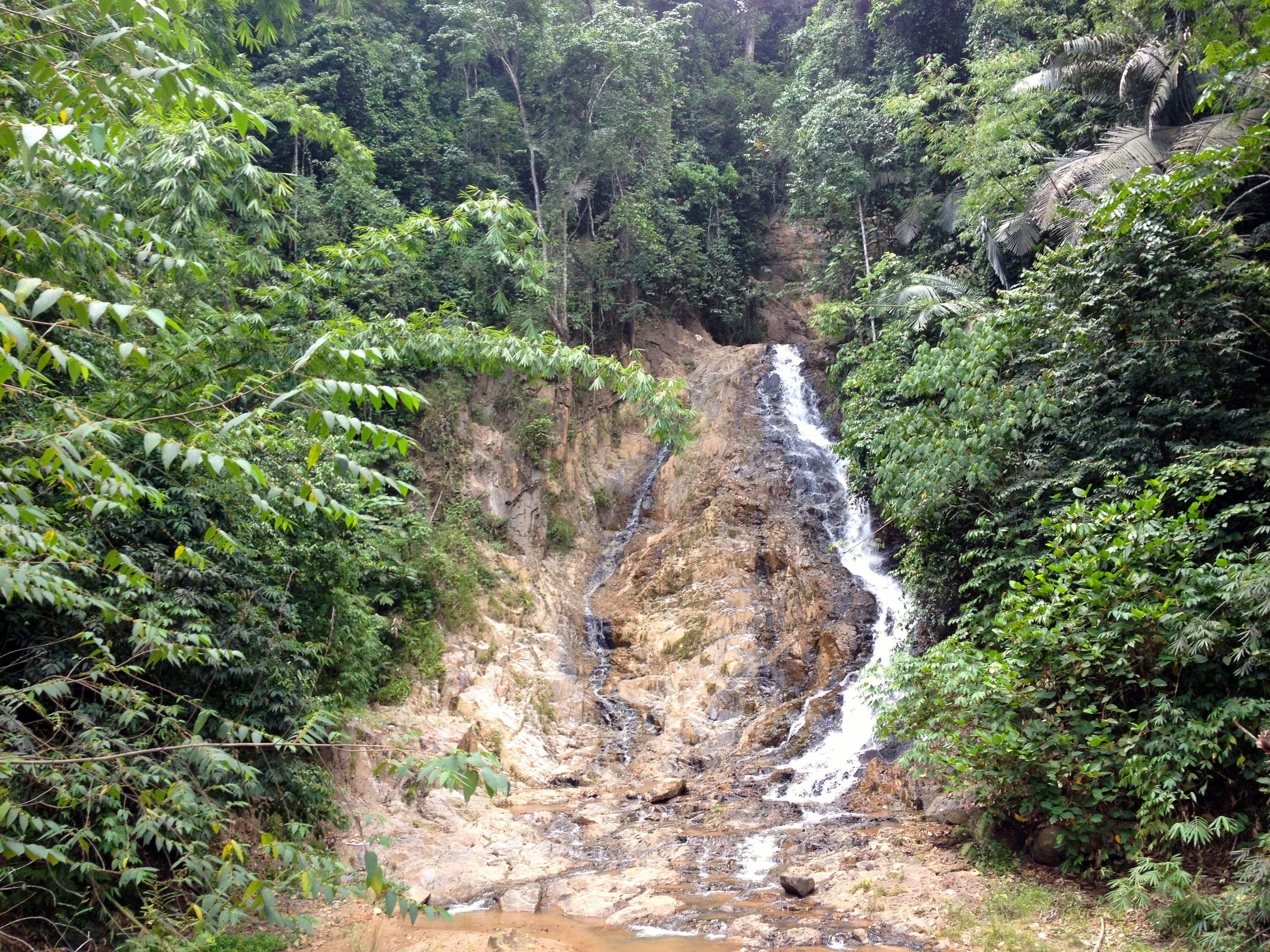 Durian Fiesta Waterfall