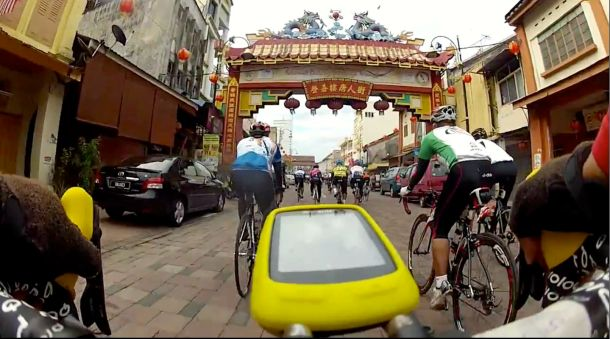 Bike-eye view courtesy of Peter Lim