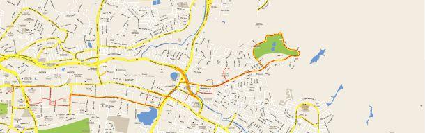 Kelab Darul Ehsan Ride Map