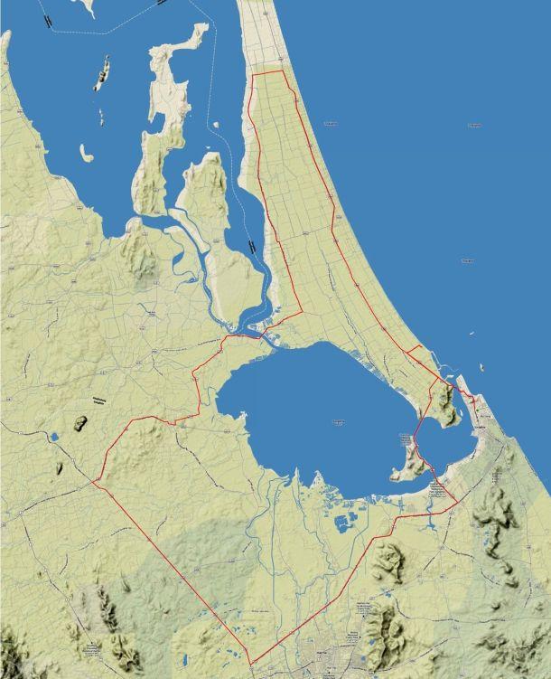Samila Century 2013 Route