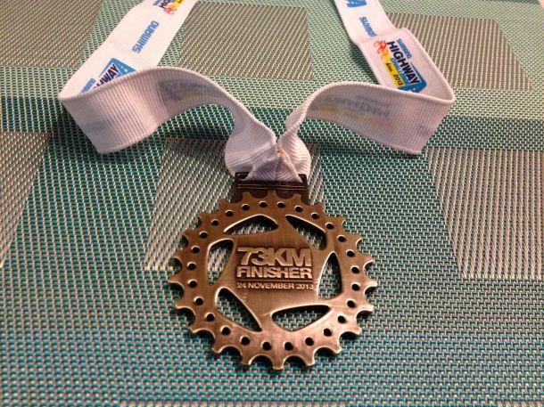 Shimano Highway Challenge LEKAS Medal