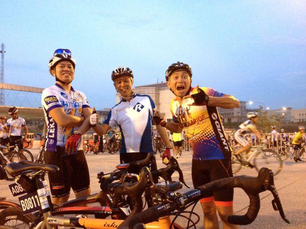 Shimano Highway Challenge LEKAS Start 01