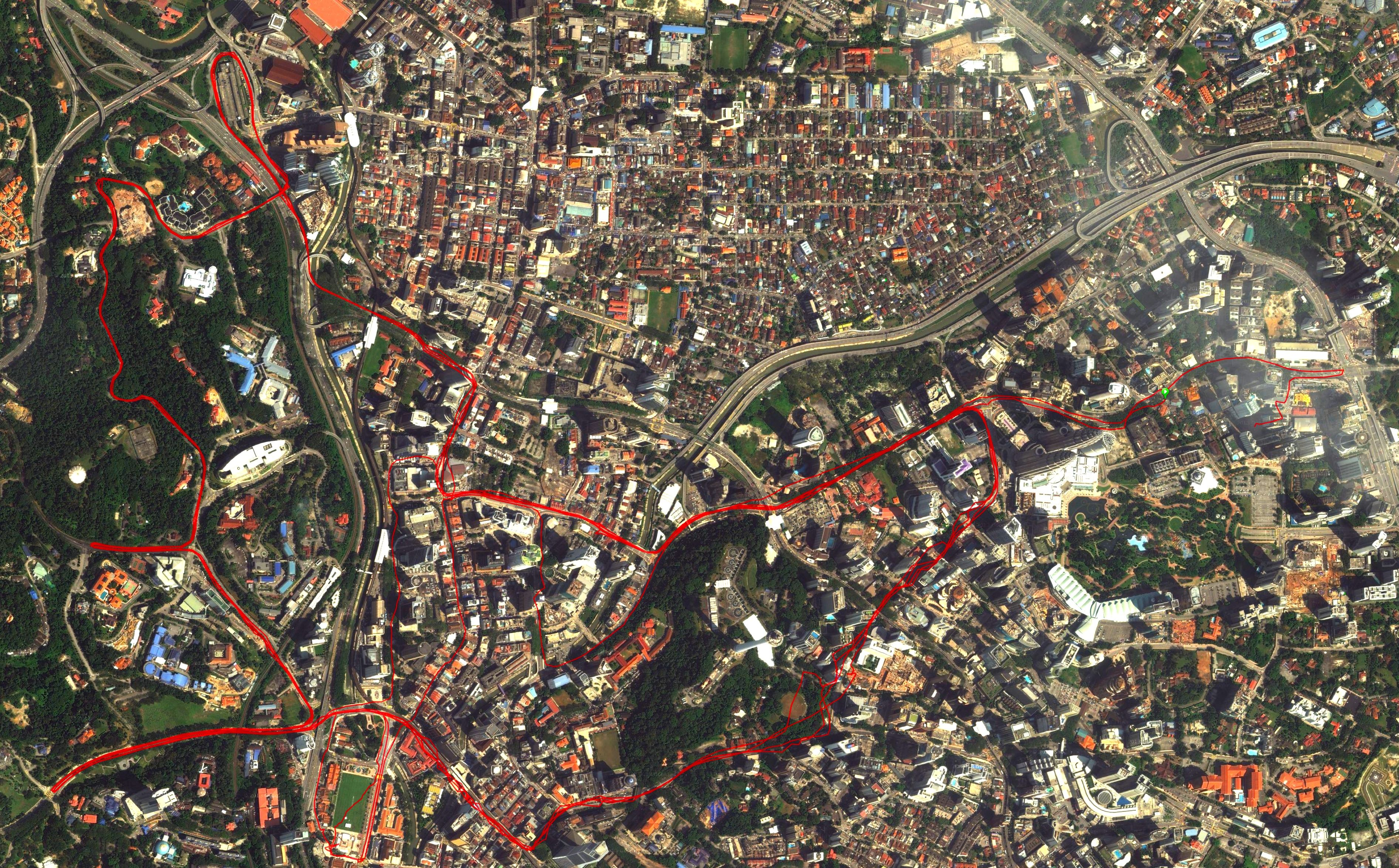OCBC Cycle Malaysia 2014 Route