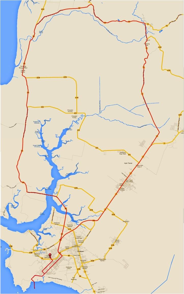 JMFR 2014 Route