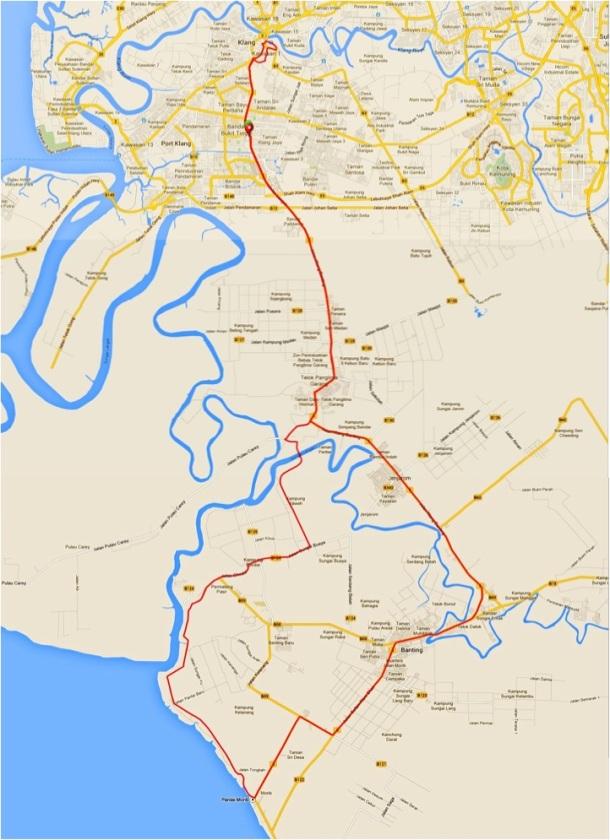 Klang Century JM Route