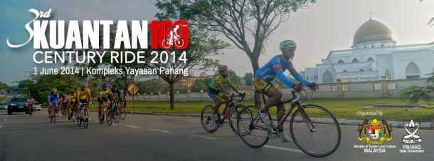 Kuantan Century Ride 2014 Banner