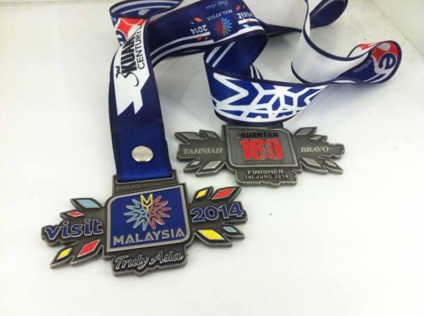 Kuantan Century Ride 2014 Medal