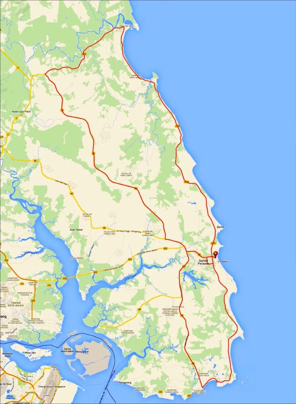 JMCR 2014 Route