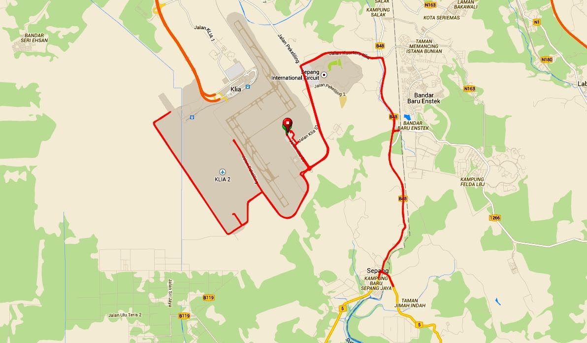LCCT Map