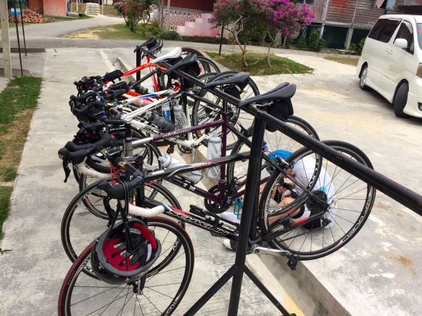 Andak's Place Bicycle Rack