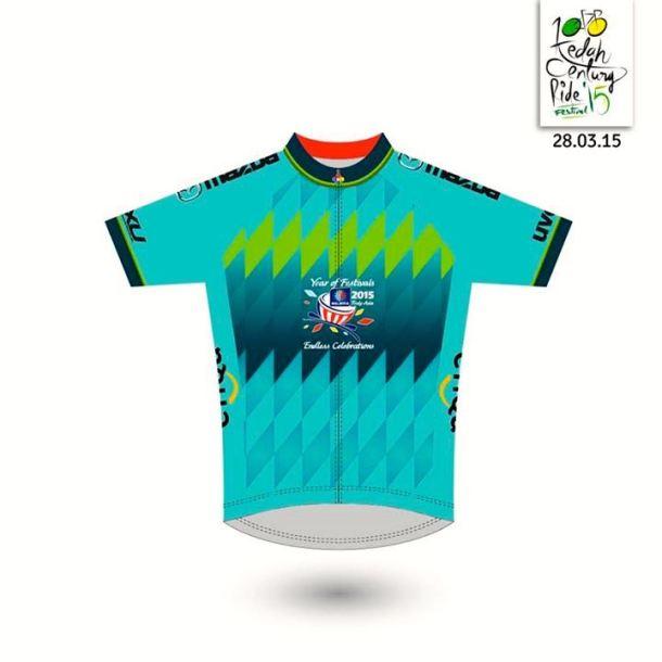 Kedah Century Ride 2015 Jersey