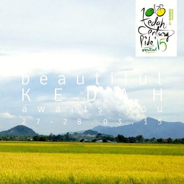 Kedah Century Ride 2015 View