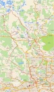 Shah Alam Enduride Ride 2015 Route