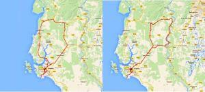 Janamanjung Routes