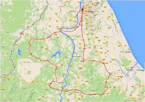 Kelantan Century 2015 Route