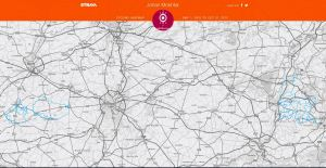 Heat map courtesy of Strava