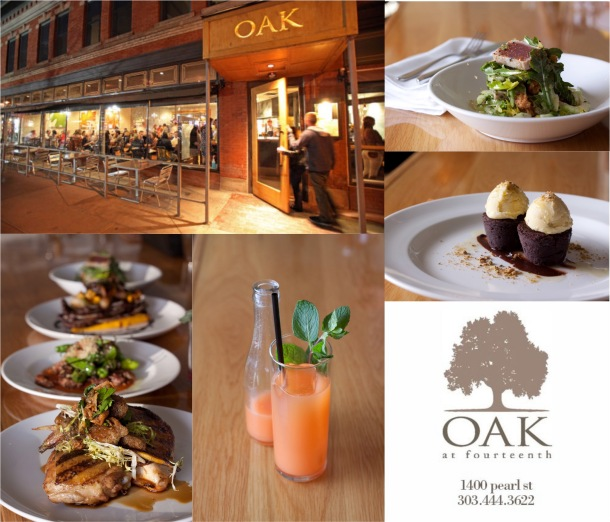 Photographs courtesy of Oak at Fourteenth