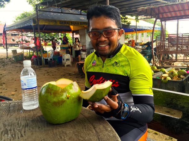 MCR 2015 Farid Coconut Water