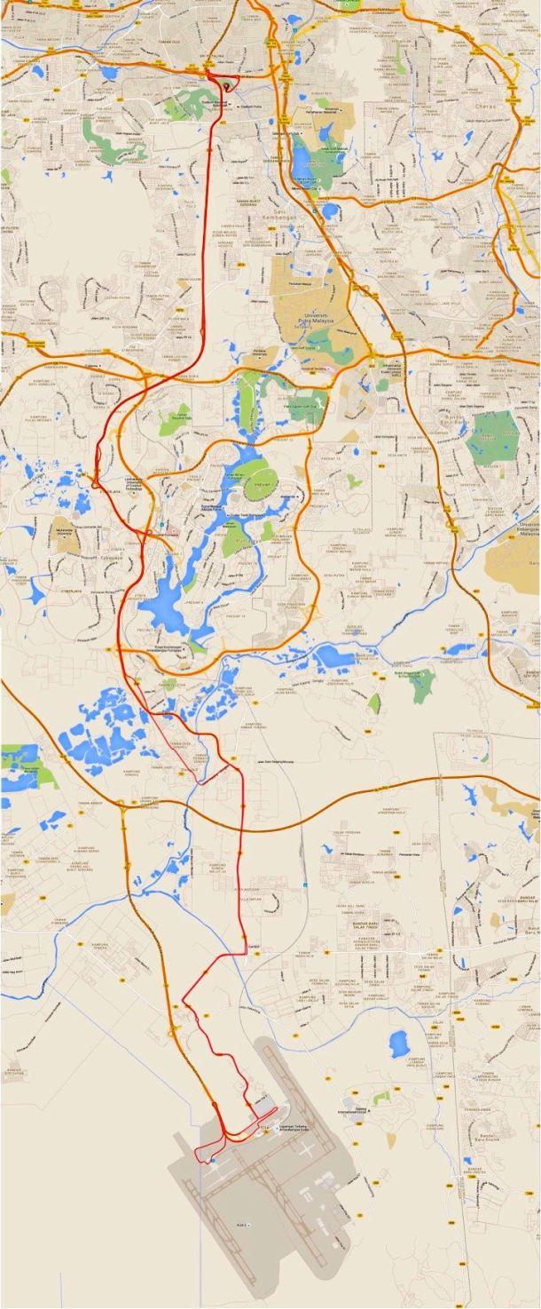 KLIAs Take 2 Route