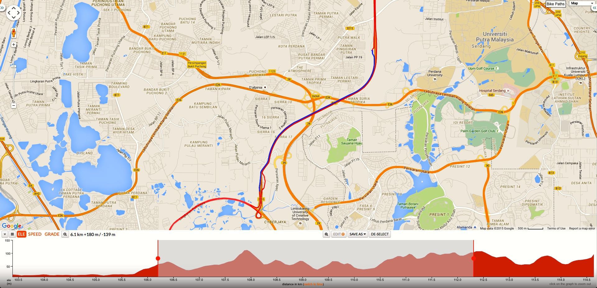 Map courtesy of Ride With GPS