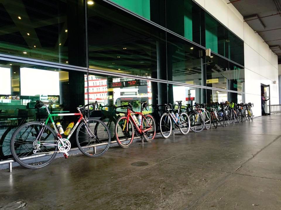 KLIA2 Third Trip Bike Lineup Fraz Chow