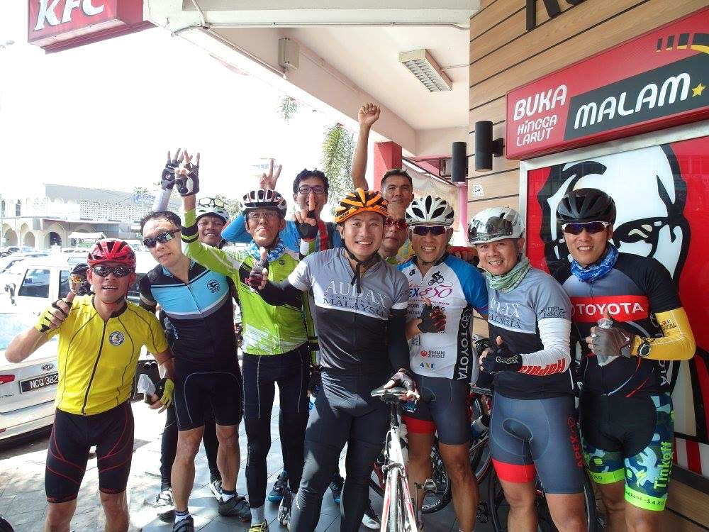 Audax BRM 200 Malaysia 2016 1.04 Finishers Lawrence Loh