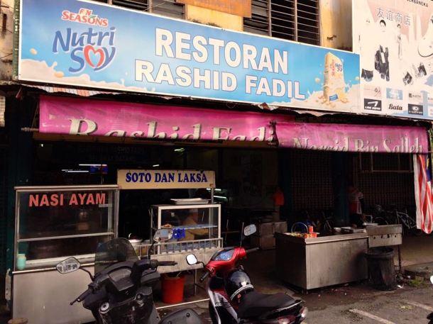 Audax BRM 200 Malaysia 2016 Breakfast Shop Marco