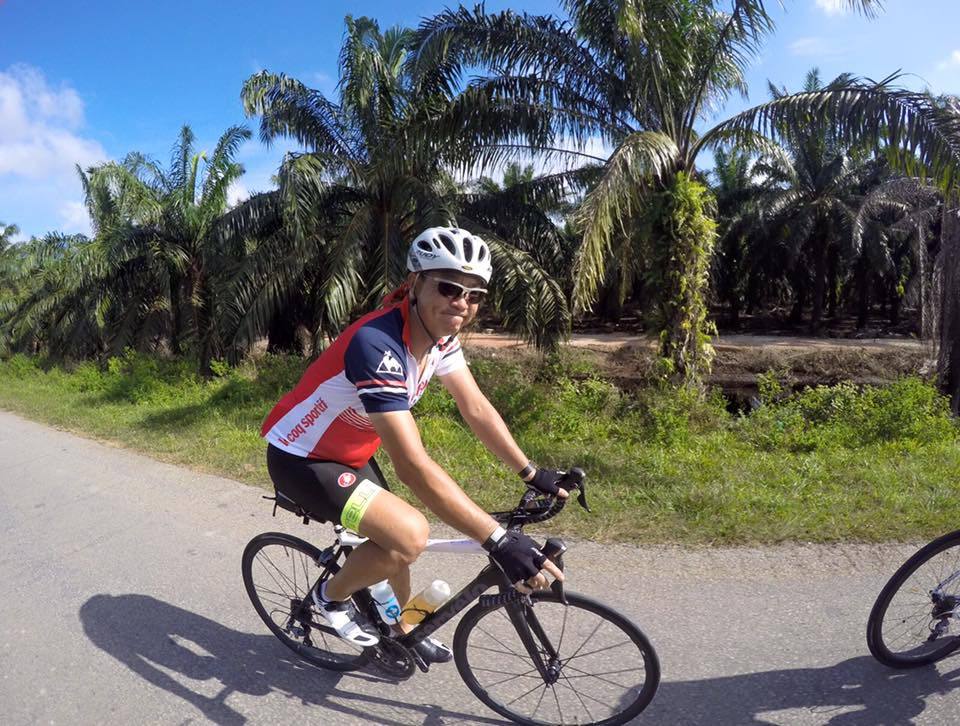 Audax BRM 200 Malaysia 2016 Leslie Liang