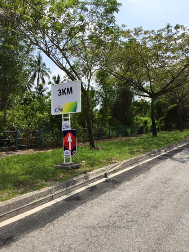 Pulau Indah 180 2016 3km Sign Catherine Wong