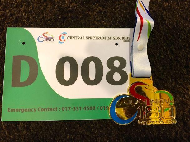 Pulau Indah 180 2016 Medal