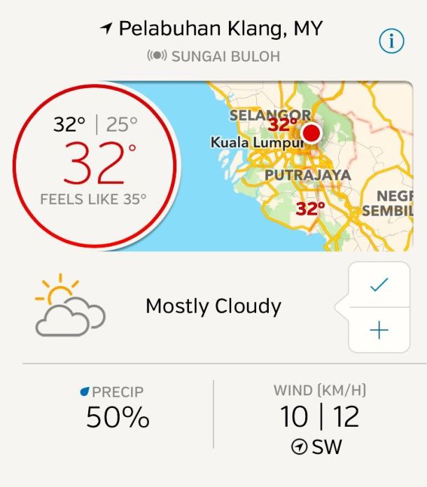 Pulau Indah 180 2016 Weather