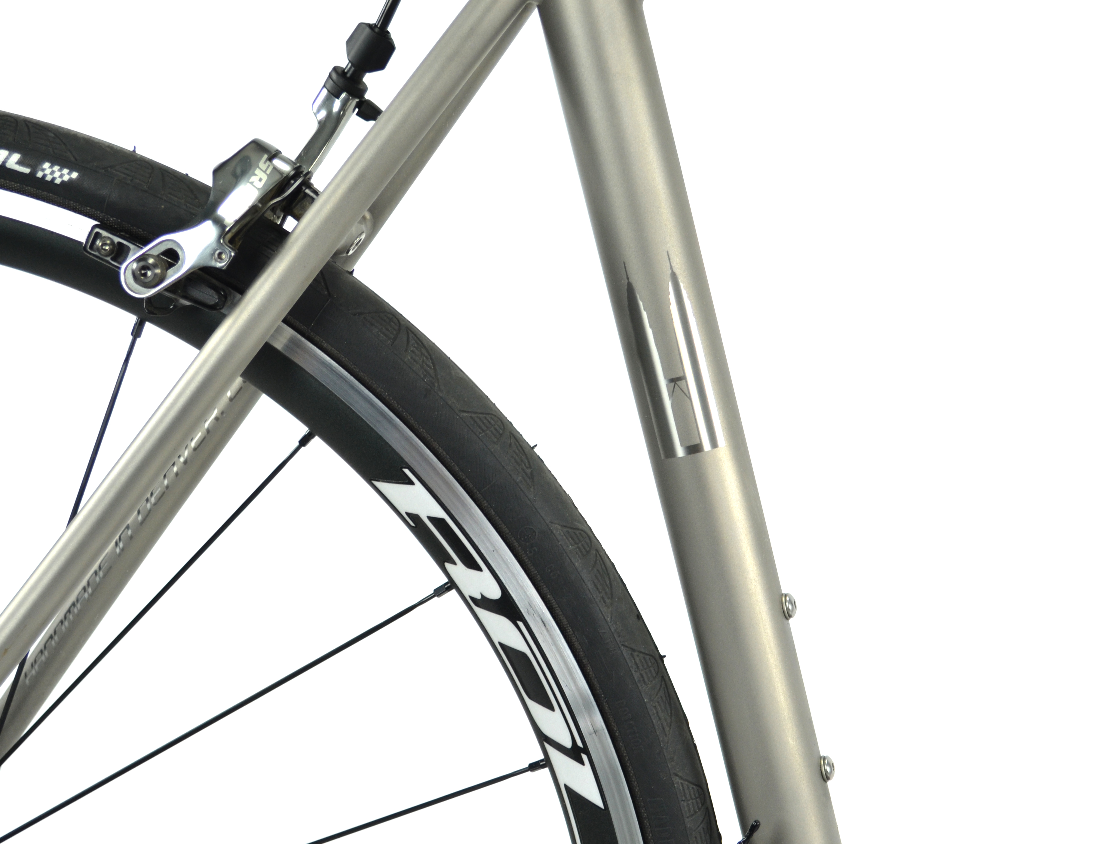 Photograph courtesy of Alchemy Bicycle Company