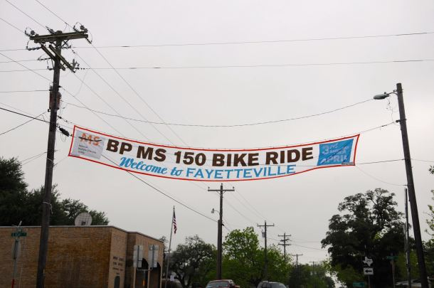 BP MS150 2106 Day 1 Fayetteville Banner