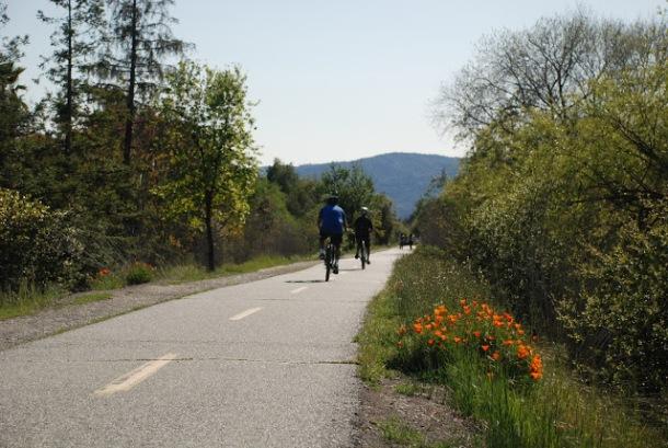 Los Gatos Creek Trail pedalspaddlespacksblogspotmy