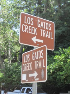 Los Gatos Creek Trail Sign wwwlosgatoscom