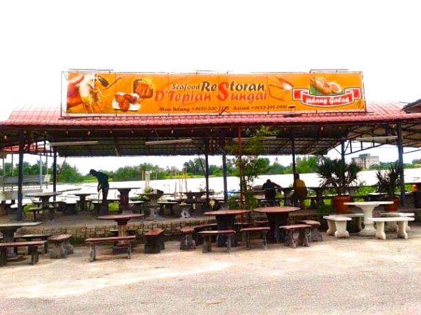 BCG Tour Teluk Intan Restoran D'Tepian Sungai