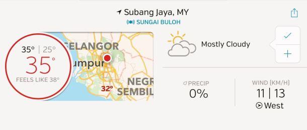 Morib Weather