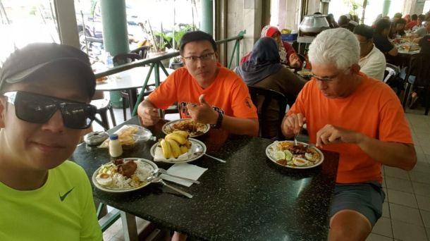 Perak Century Ride 2016 Lunch 2 Alvin
