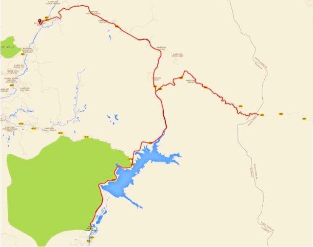 Peras and Tekala Route
